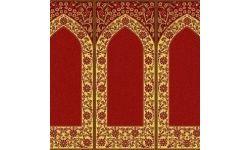 Mihraplı Bordo Cami Halısı